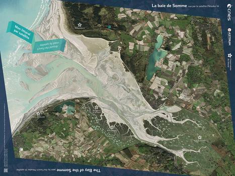 La corniche basque « Le blog de l'image satellite – CNES | Espaces naturels littoraux | Scoop.it