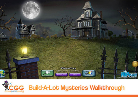 Build-a-Lot: Mysteries Walkthrough: From CasualGameGuides.com | Casual Game Walkthroughs | Scoop.it