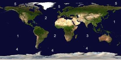 Los 5 océanos de la Tierra | LaReserva | subida del nivel del mar | Scoop.it