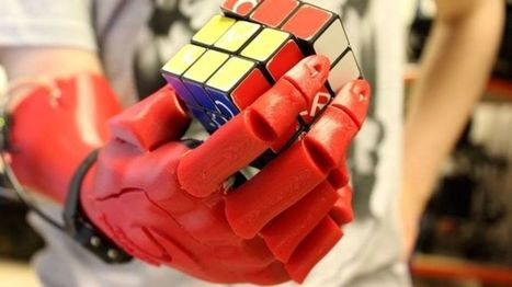 Open Bionics robotic hand for amputees wins Dyson Award - BBC News | Heron | Scoop.it