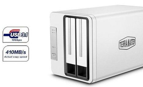 Test et avis du boitier pour disque dur TerraMaster D2-310   Nalaweb   Scoop.it