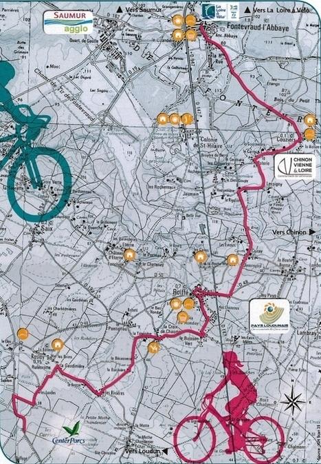 Photos. Une nouvelle liaison cyclable de Fontevraud au Center Parcs   Tourisme Loudunais   Scoop.it