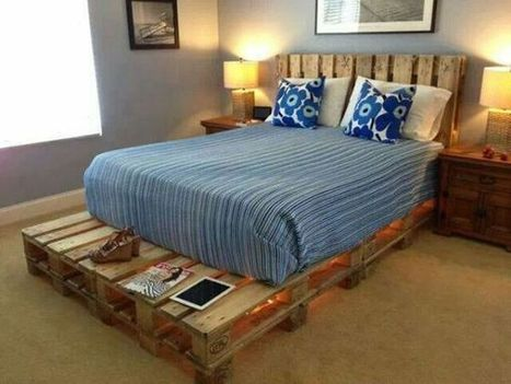 20 camas hechas con pal ts de madera - Tarimas para camas ...