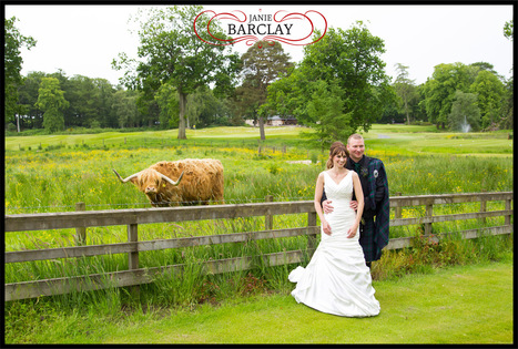 Sarah and Kevin at Meldrum House Hotel | Wedding Photography | Scoop.it