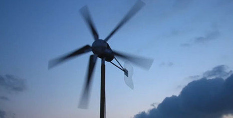 Windmill made from washing machine, 555 chip | Nasjoe Interest | Scoop.it