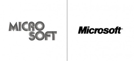 25 Popular Company Logos Then And Now   Curating Mode !   Scoop.it