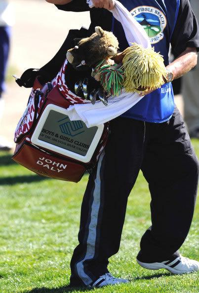 Daly et sa télé intégrée à son sac | Les dernières news golf et info golf | Scoop.it