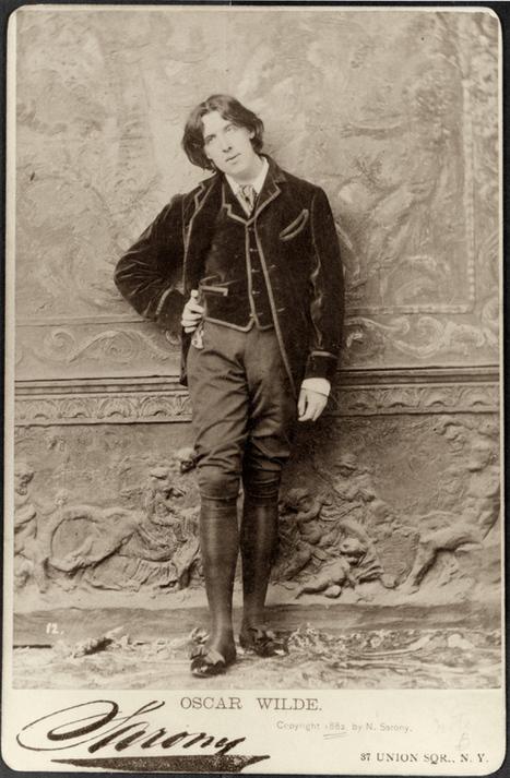 Napoleon Sarony, (American b. Canada, 1821-1896) Oscar Wilde,... | Photography Now | Scoop.it