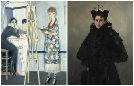 Belles de jour : une exposition autour des femmes, artistes et modèles | A Voice of Our Own | Scoop.it