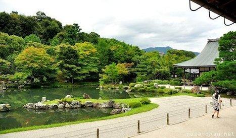 Japanese garden aesthetic principles, Borrowed scenery | Japanese Gardens | Scoop.it