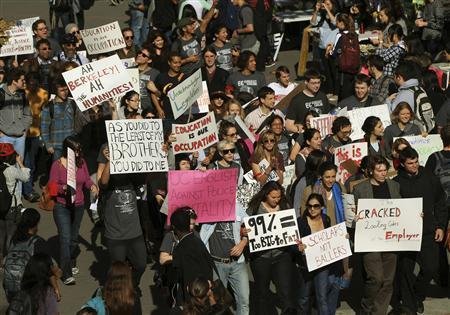 Protesters converge on Berkeley, organizers vow to set up camp   Coveting Freedom   Scoop.it