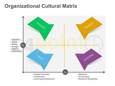 Organizational Cultural Matrix: Single PowerPoint Slide | Organization and mediation curation | Scoop.it