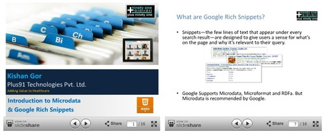 Introduction To Microdata and Google Rich Snippets | Code it | Scoop.it