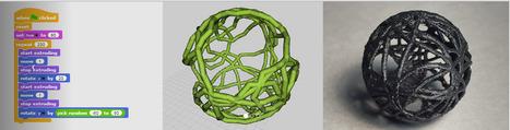 Beetle Blocks - Visual code for 3D design   tecno4   Scoop.it