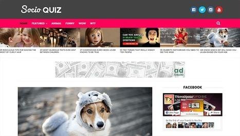 Socio - Viral & Buzz Responsive Blogger Template | Blogger themes | Scoop.it