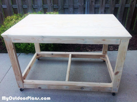 DIY Portable Workbench | MyOutdoorPlans | Free Woodworking Plans and Projects, DIY Shed, Wooden Playhouse, Pergola, Bbq | Garden Plans | Scoop.it