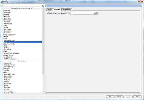 Scala Worksheet | IntelliJ Scala plugin blog | playframework | Scoop.it