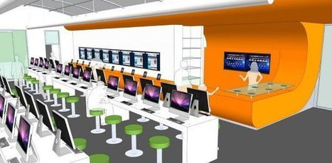 First all-digital library in the U.S. will look like an Apple Store | Building a Learning Commons | Scoop.it