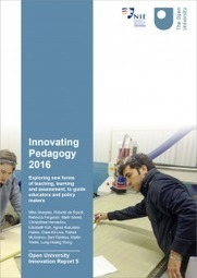 Innovating Pedagogy 2016 | Open University Innovation Report #5 | digital study | Scoop.it