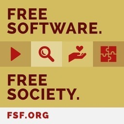 Free software badges to share — Free Software Foundation — working together for free software | Linux A Future | Scoop.it