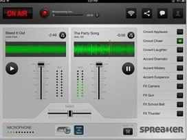 Spreaker on air - Skapa egna radio program med eleverna! | Ipad i skolan | Scoop.it