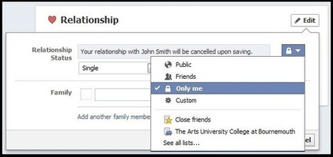 How To Change Facebook Relationship Status Without Anyone Knowing | Teachnology | Scoop.it