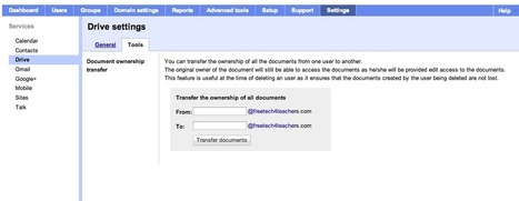 Free Technology for Teachers: How to Quickly Transfer Ownership of Documents in Google Drive | Twitter Finds | Scoop.it