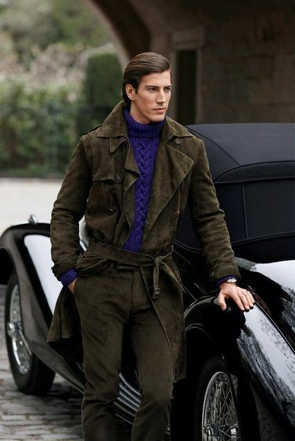 Ralph Lauren Purple Label Fall-winter 2012-2013 Men's Fashion Campaign | styles | Scoop.it