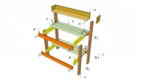 Potting bench plans free | Free Outdoor Plans - DIY Shed, Wooden Playhouse, Bbq, Woodworking Projects | Fruit trees | Scoop.it