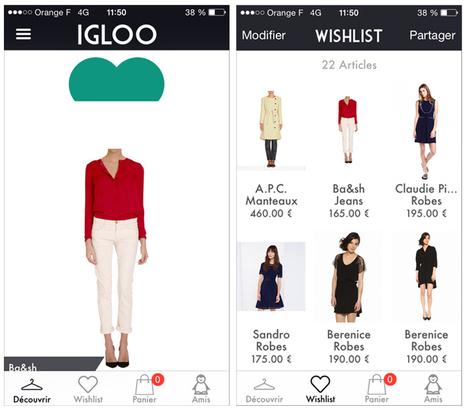 Essayer avant d'acheter : Igloo, une appli pas si givrée que ça ! - Le Lab by vente-privee consulting | Mass marketing innovations | Scoop.it