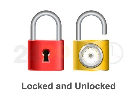 Locked and Unlocked | PowerPoint - Maps, Templates, Diagrams, Illustrations and more! | Scoop.it