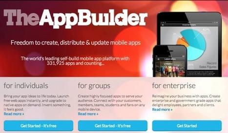 Crear apps sin saber programar es más sencillo de lo que parece | Recursos Educativos Abiertos - REA | Scoop.it