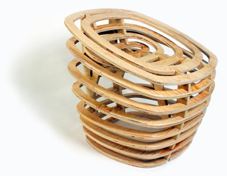 Segmented Wooden Chair | Art, Design & Technology | Scoop.it