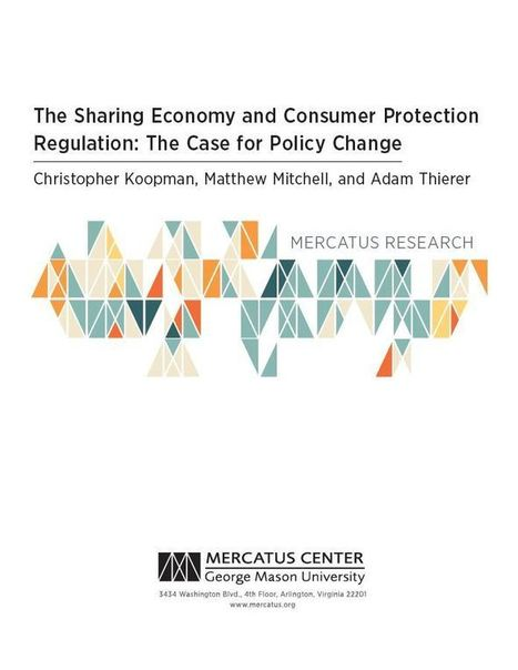 New Paper on The Sharing Economy and Consumer Protection Regulation | Peer2Politics | Scoop.it