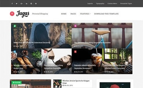 JUGAS | Blogger themes | Scoop.it