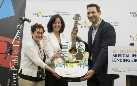 Musical Instruments Circulate in Canadian Public Libraries | innovative libraries | Scoop.it