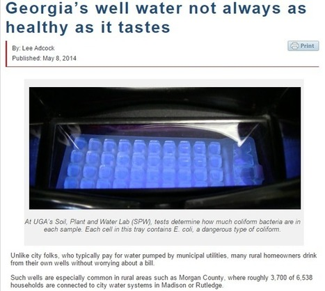 Athens, GA Plumber Urges Keeping Contaminants Away From Your Well | Athens Plumbing | Scoop.it