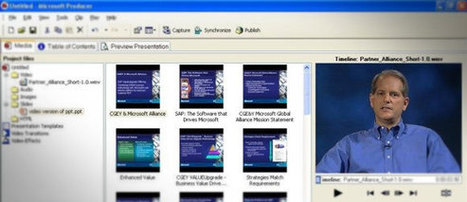 Microsoft Producer - Free Addin for PowerPoint | Education Library and More | Scoop.it