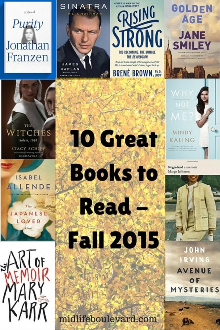 10 New Fall Books That Should Be On Your Nightstand | Sharon Greenthal | Machinimania | Scoop.it