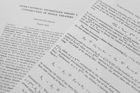 Mathematicians left baffled after three-year struggle over proof | Mathematics | Scoop.it