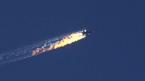 Turkey shoots down Russian warplane on Syria border - BBC News | AP Human Geography Digital Knowledge Source | Scoop.it