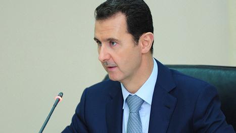 Assad appelle à cesser de financer les groupes armés en Syrie et en Irak ' Histoire de la Fin de la Croissance ' Scoop.it