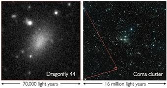 Observation d'une nouvelle classe de galaxies, ultra diffuses… | C@fé des Sciences | Scoop.it