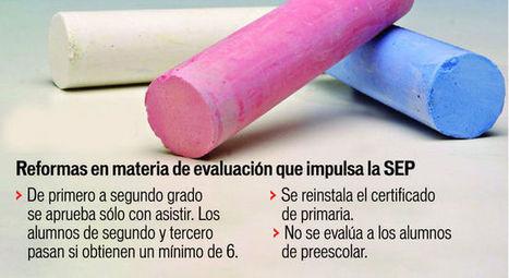 Justifica SEP la nueva evaluación a alumnos | e-evaluación | Scoop.it