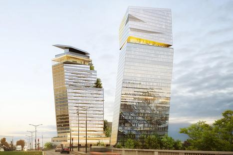 Jean Nouvel recibe aprobación para construir torres inclinadas en París | retail and design | Scoop.it