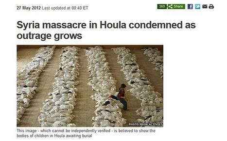 BBC News uses 'Iraq photo to illustrate Syrian massacre' - Telegraph | syria crisis | Scoop.it
