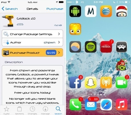 Gridlock Cydia Tweak Updated for iOS 7 | GuidesDNA | GuidesDNA | Scoop.it
