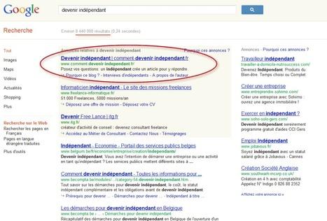 Positionner son site internet en 1er sur Google, en région | CDI doctic | Scoop.it
