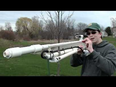 Homemade Air-powered Sniper Rifle | My favorite videos | Scoop.it