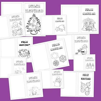 Christmas de Navidad para colorear | pedagogía terapéutica | Scoop.it